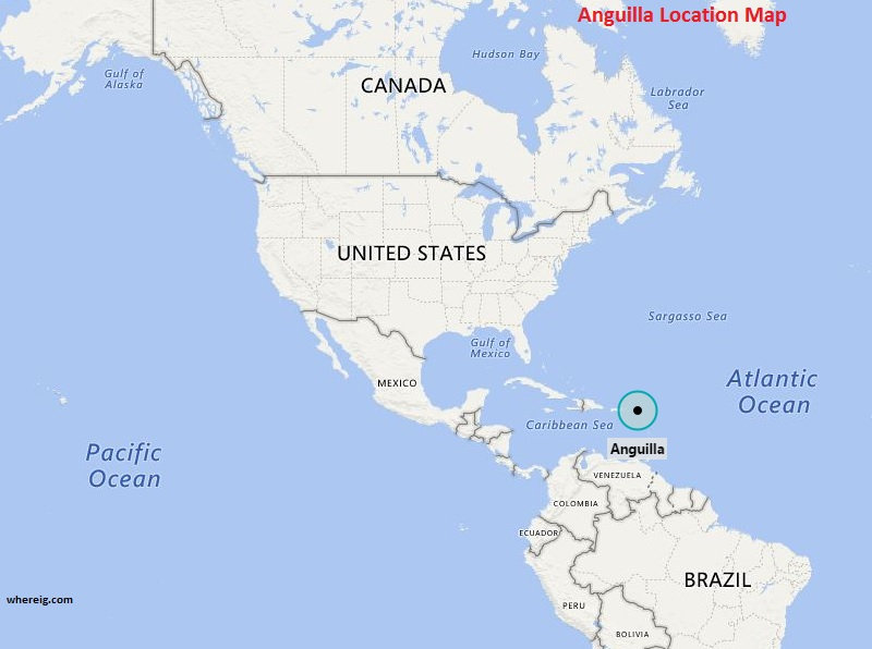Where is Anguilla Where is Anguilla Located in The World Map