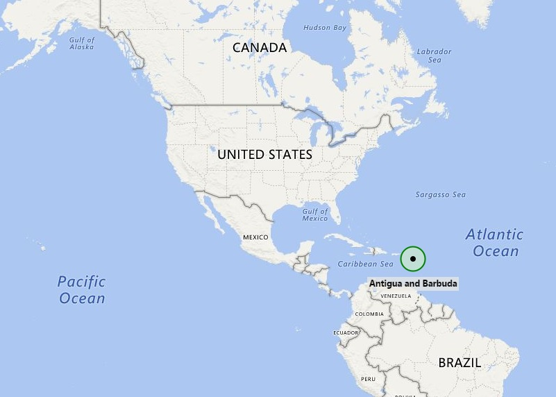 Where is Antigua and Barbuda