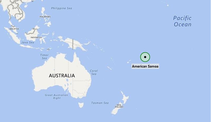 where is american samoa