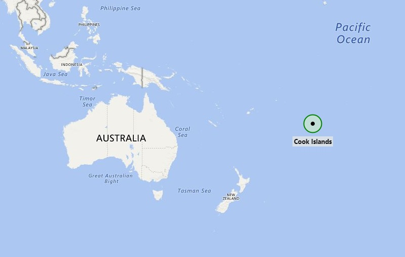 Cook Islands On World Map.Where Is Cook Islands Where Is Cook Islands Located In The Map