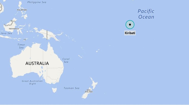 Where is Kiribati