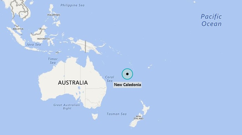 Where is New Caledonia