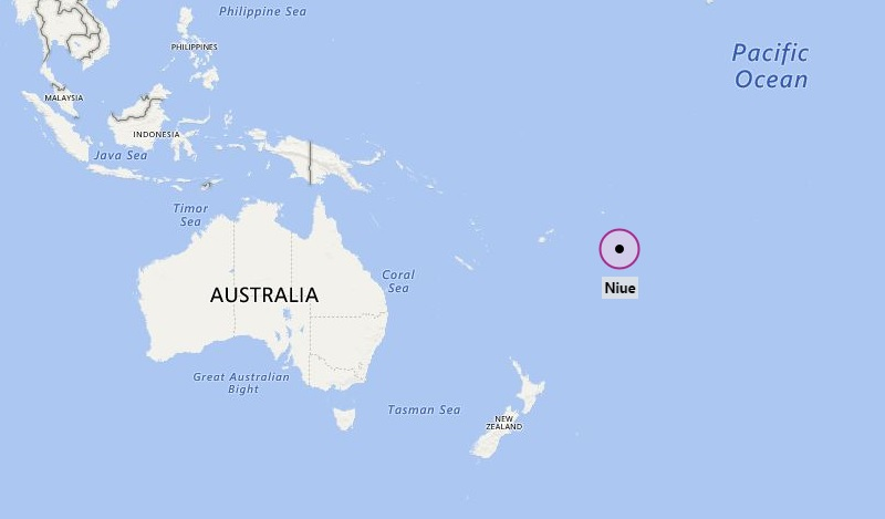 Where Is Niue Where Is Niue Located In The Map - Niue map
