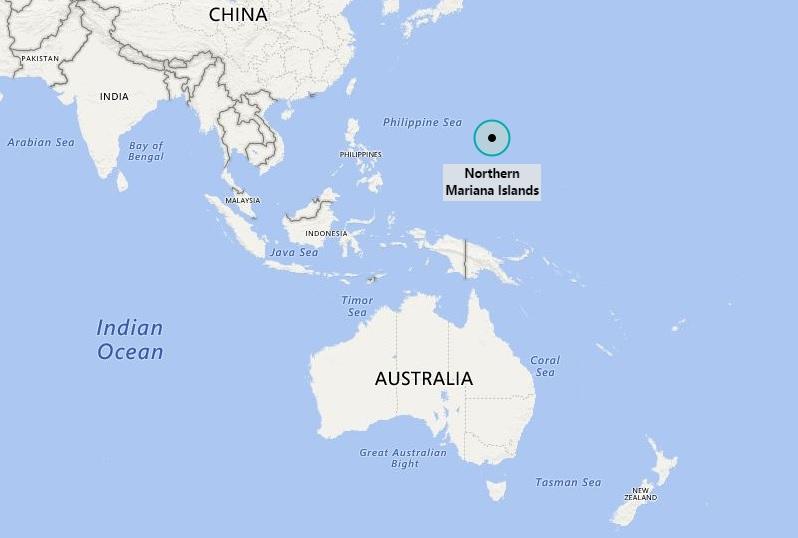 Where is Northern Mariana Islands