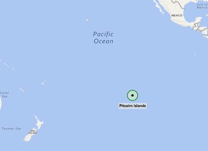 Where is Pitcairn Islands