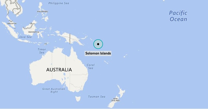 Where is Solomon Islands Where is Solomon Islands Located in the Map