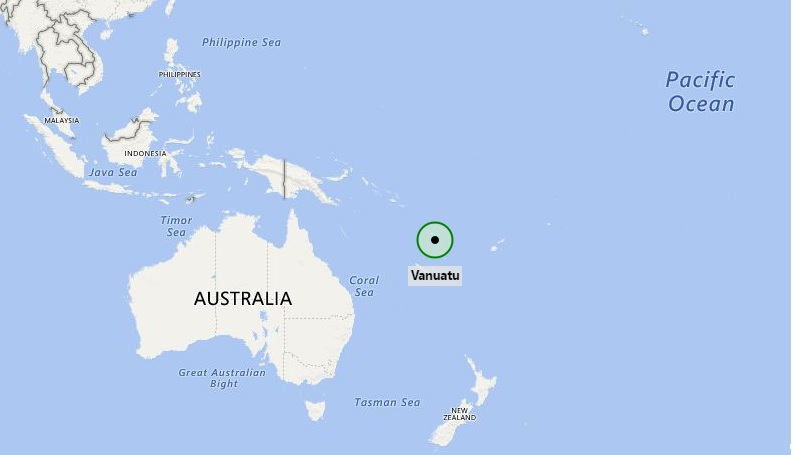 Where Is Vanuatu Where Is Vanuatu Located In The Map - Vanuatu map