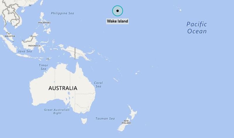 Where Is Wake Island Where Is Wake Island Located In The Map