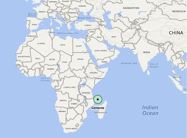 Where Is Comoros Where Is Comoros Located In The World Map