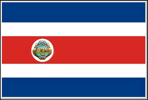 costa rica flag flag picture facts