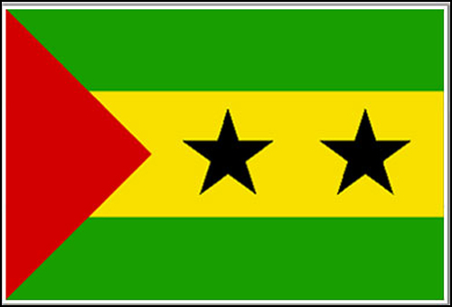 Sao Tome Principe Flag
