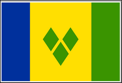 St Vincent the Grenadines  Flag