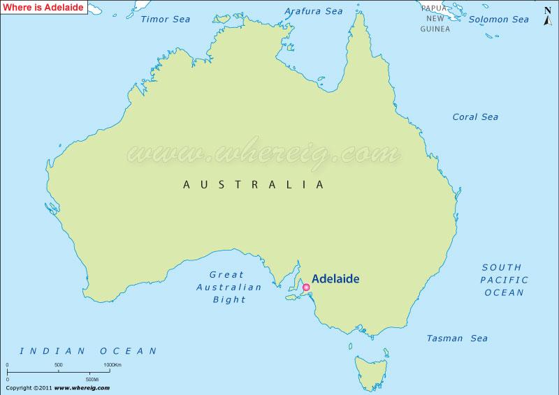 Where is Adelaide, Australia