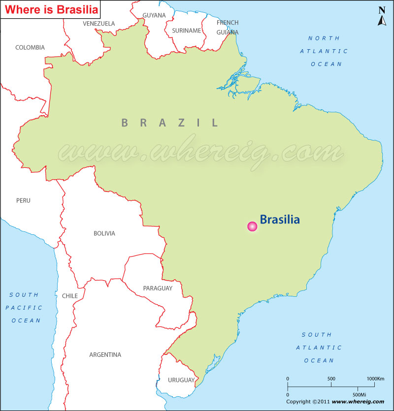 Where is Brasilia