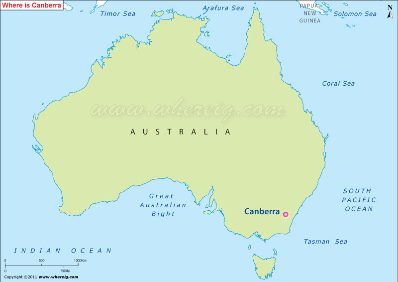 Australia Map Canberra.Where Is Canberra Australia Where Is Location Map Of Canberra