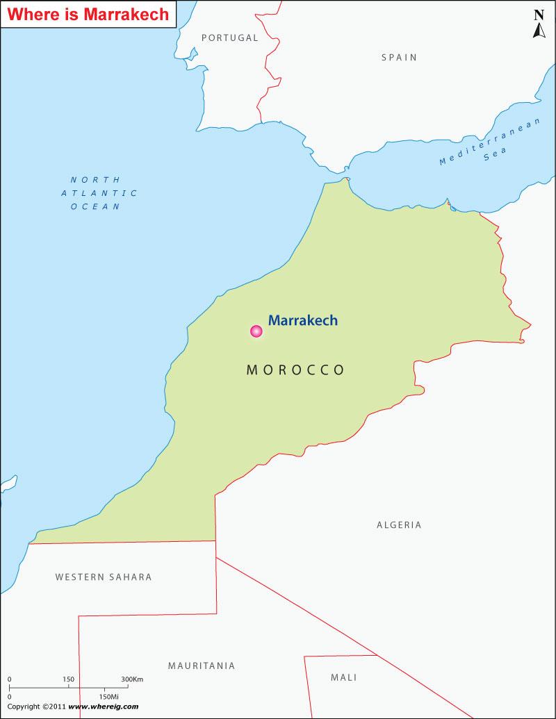 Where is Marrakech