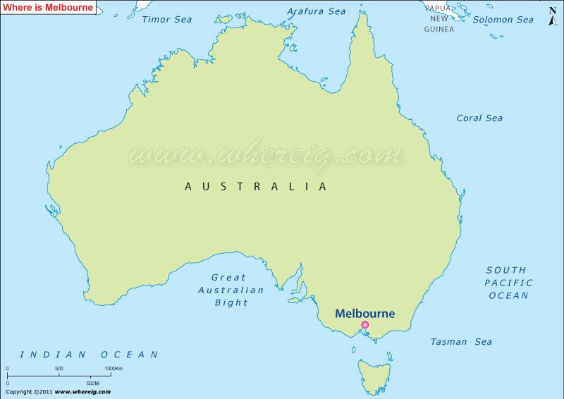 Where is Melbourne, Australia