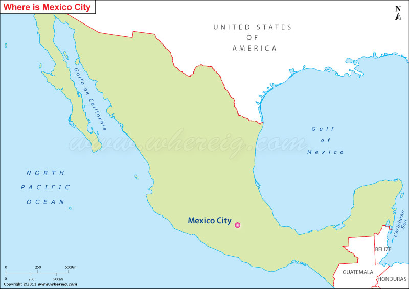 Where Is Mexico City Located Mexico City Location On Map - Where is mexico