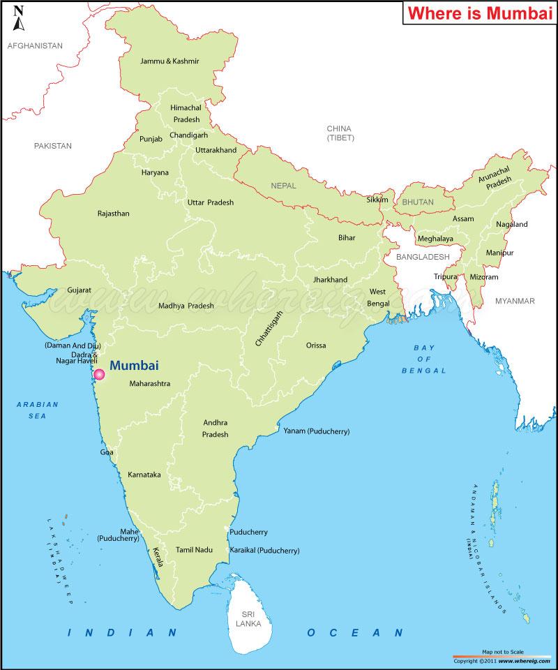 Where is Mumbai
