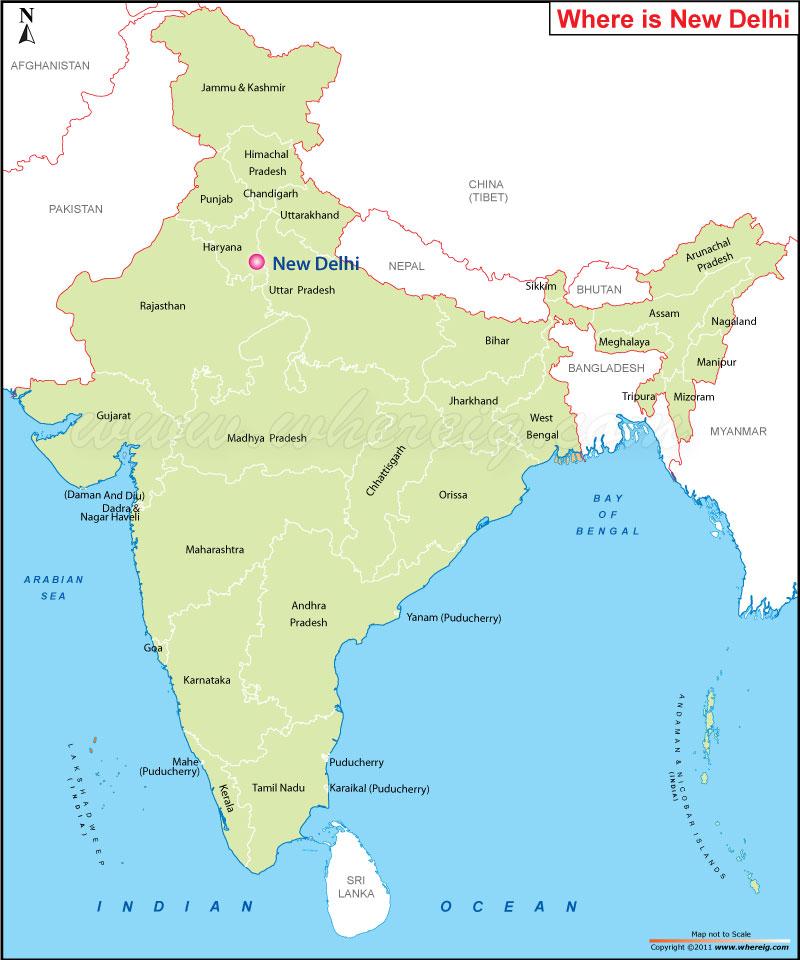 Where Is New Delhi India Where Is New Delhi India Located