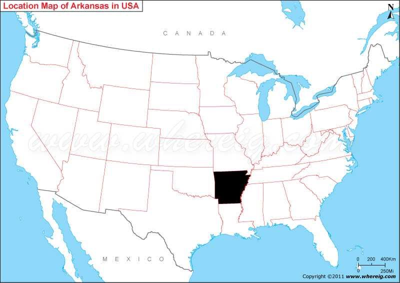 Where is Arkansas