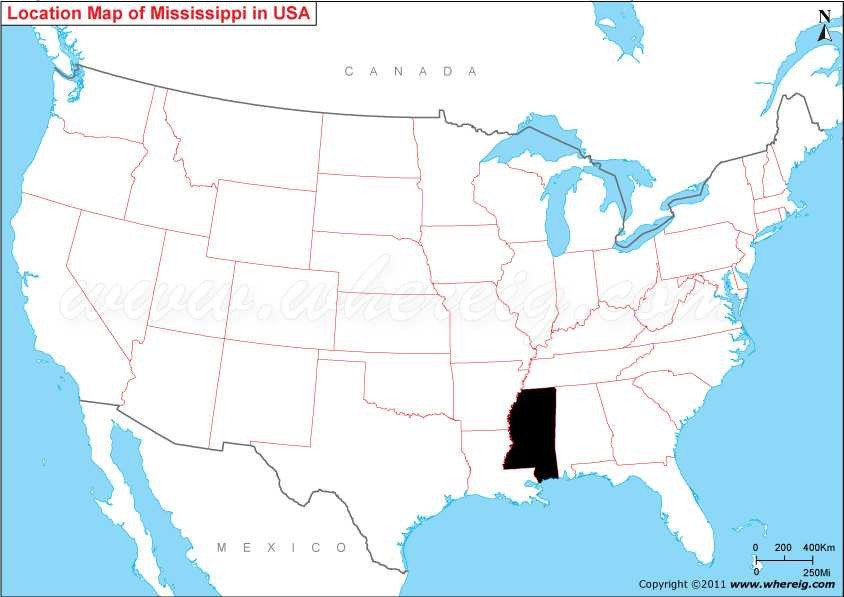 >Where is Mississippi