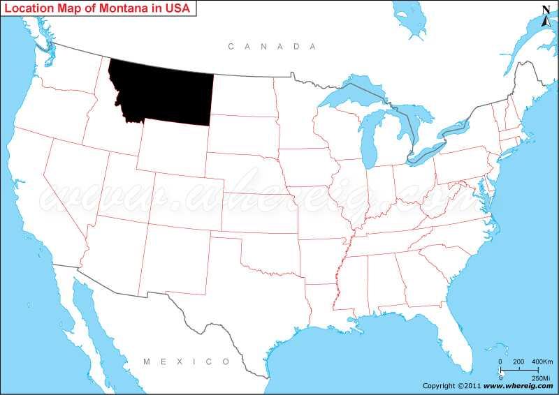 Where is Montana