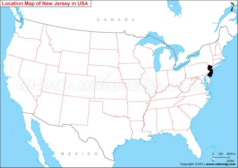 Where is New Jersey