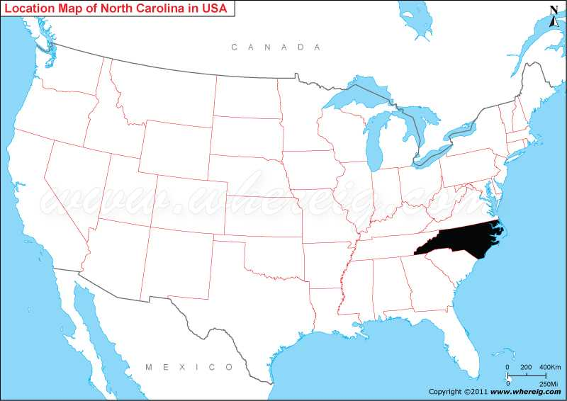 Where is North Carolina