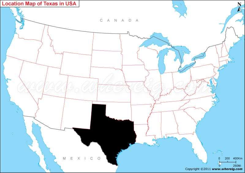 Where is Texas