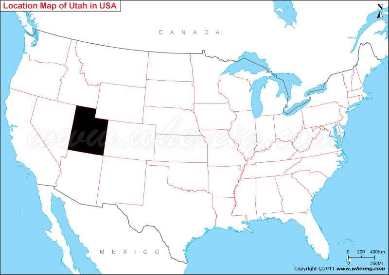Where is Utah