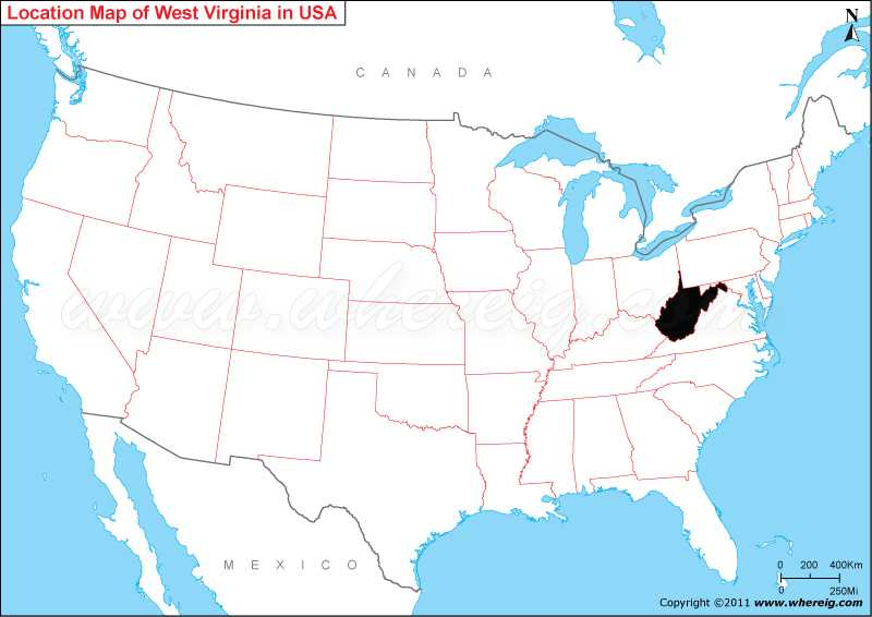 Where is West Virginia