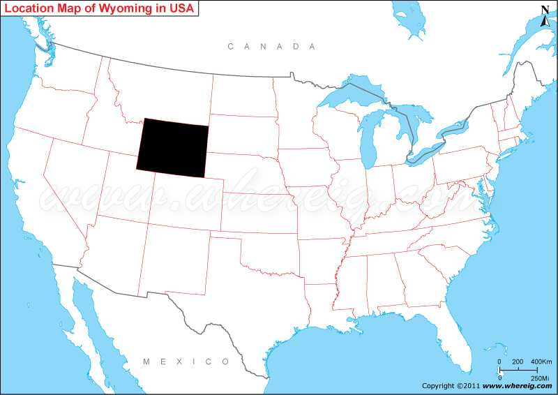 Where is Wyoming State? / Where is Wyoming on US Map