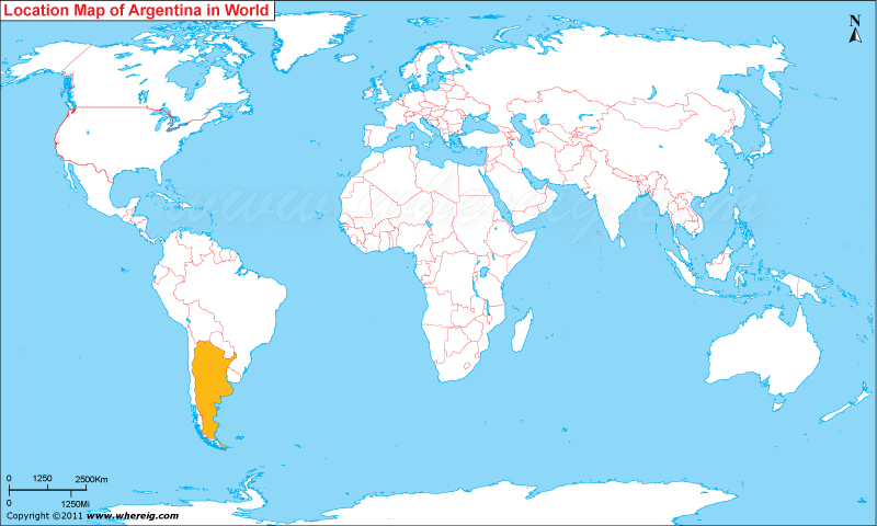Where is Argentina? / Where is Argentina Located in The ...