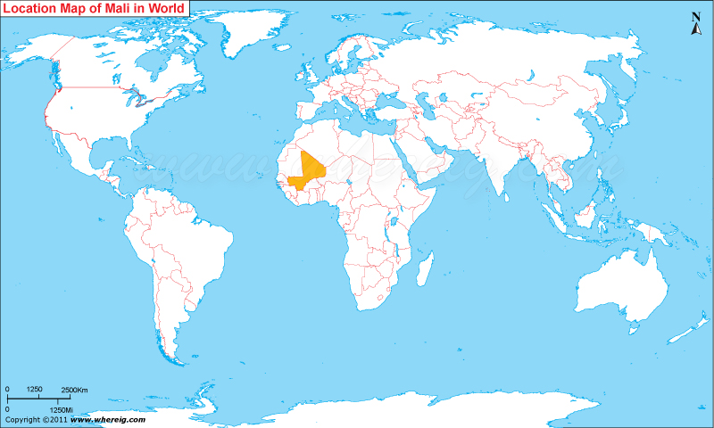 Mali Location On World Map Where is Mali? | Where is Mali Located in the World Map Mali Location On World Map
