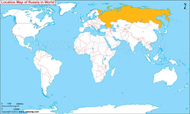 Where Is Russia Where Is Russia Located In The World Map - Russia location