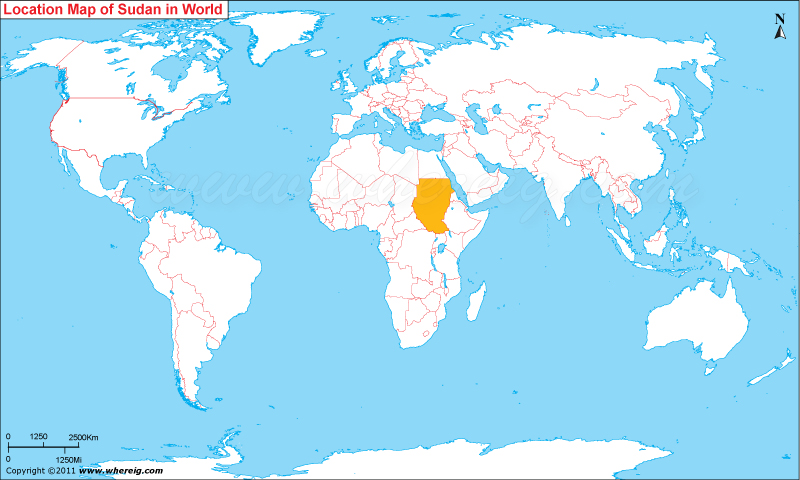 Where is Sudan