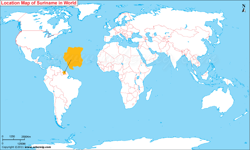 Where is Suriname