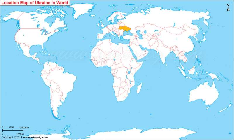 Where is Ukraine? | Where is Ukraine Located in the World Map