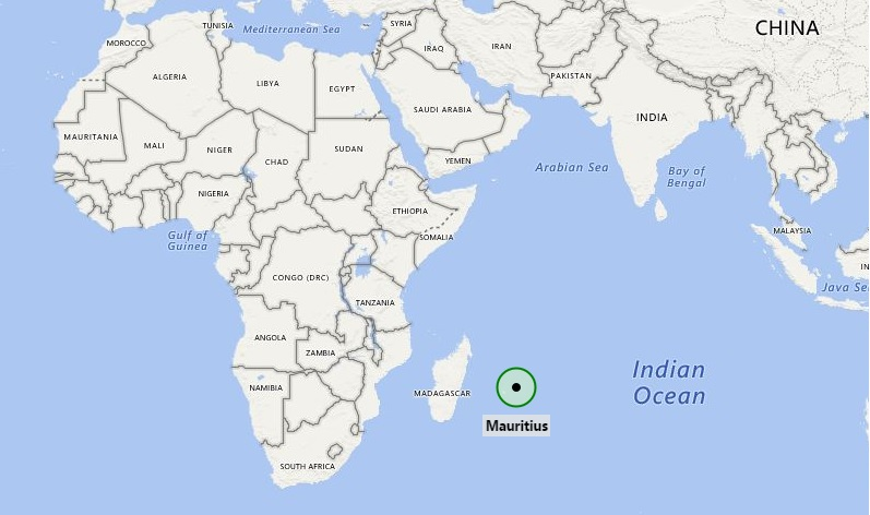 Where Is Mauritius Where Is Mauritius Located In The World Map - Mauritius location in world map