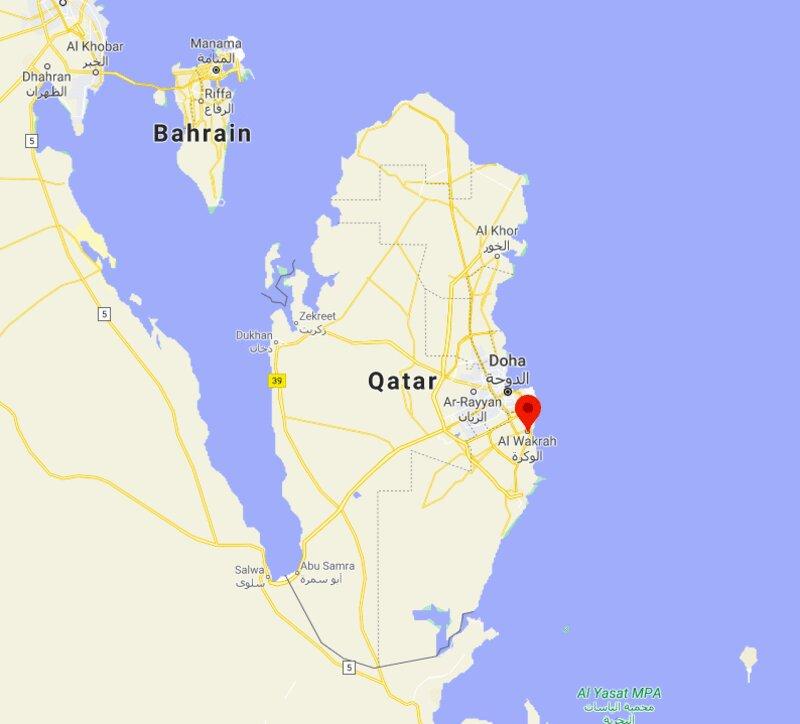 Where is Al Wakrah