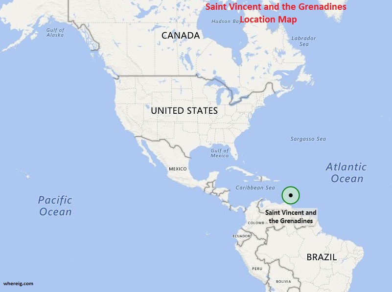 Where is Saint Vincent and the Grenadines