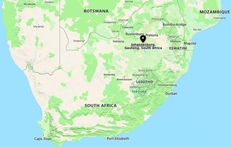 Where is Johannesburg