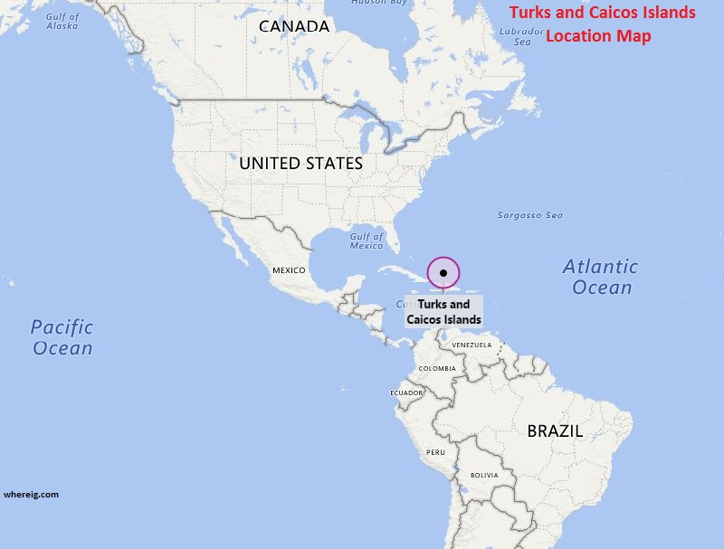 Where is Turks and Caicos Islands
