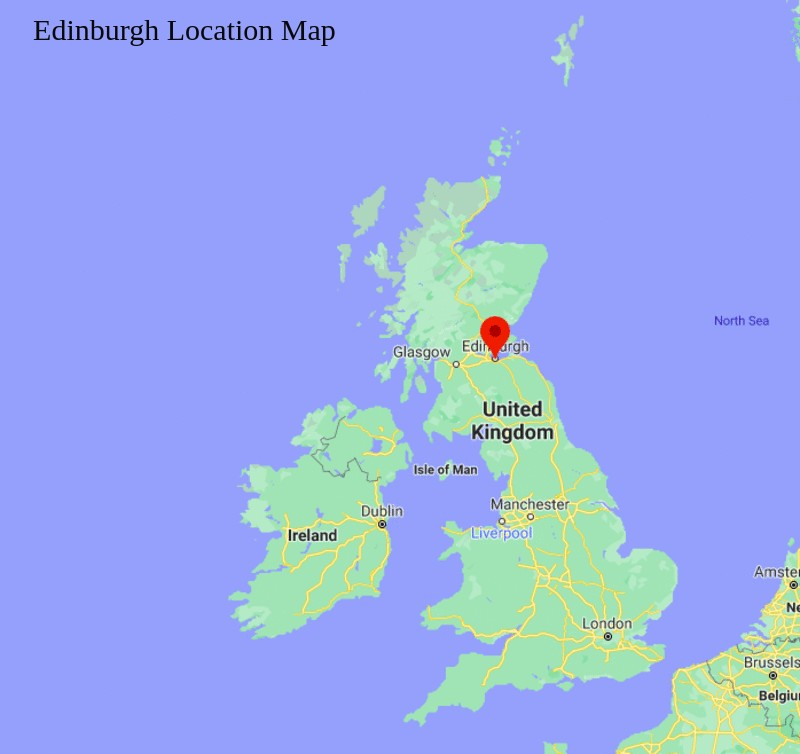 Where is Edinburgh, Scotland