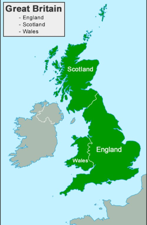 Where is Great Britain, UK