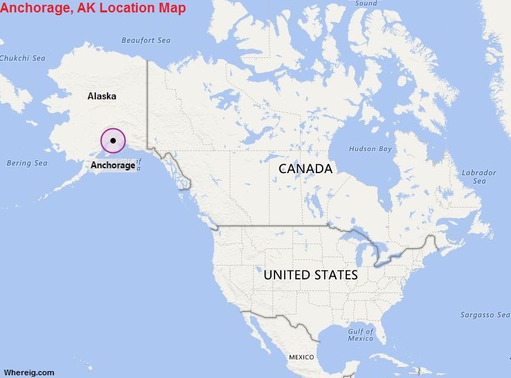Anchorage Canada Map Where is Anchorage, Alaska? / Where is Anchorage Located In The