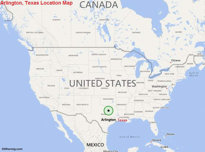 Map Of Arlington Texas.Where Is Arlington Tx Where Is Arlington Texas Located In The Us Map