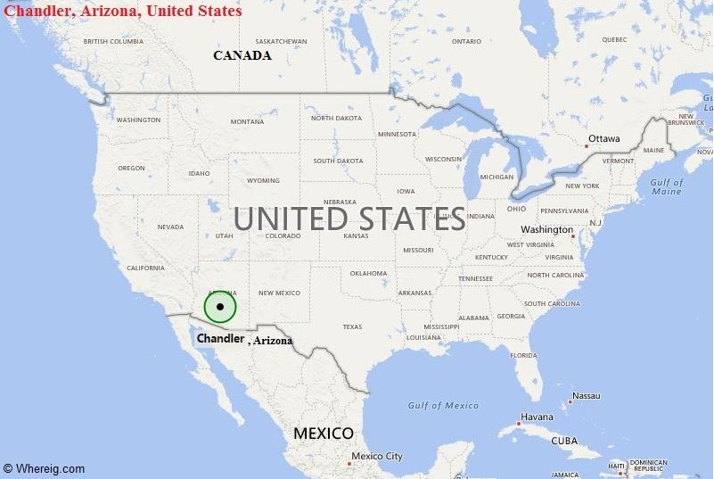 Where is Chandler, Arizona