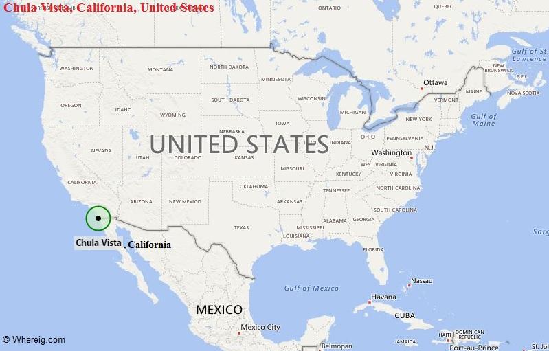 Where is Chula Vista, California